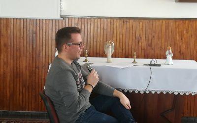 Riport a Szent István Rádió számára